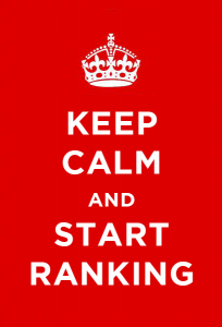 keep calm and start ranking with pay as you go seo